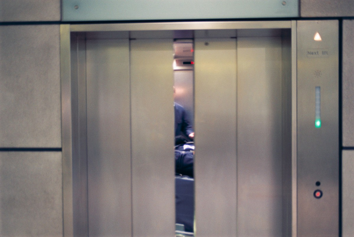 Incidence (Elevator), London #4, 2002