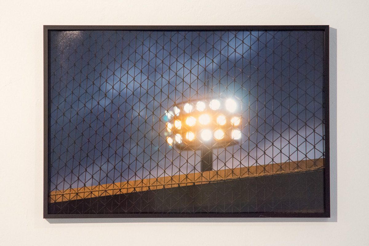 FLOODLIGHT, Fine Art Print, 40 x 60 cm, 2009/2016 aus: Fragments (Places of Passage), 2009, dim. var.,